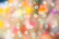 Colorful bokeh and blur background bokeh background pink Stock Image
