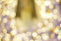Colorful bokeh blurred abstract background. Christmas and new year party concept. Royalty Free Stock Photo