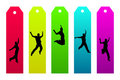 Colorful Bookmarks Stock Photos