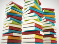Colorful books Royalty Free Stock Photo