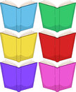 Colorful books pack vector illustration of Royalty Free Stock Photography