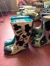 Colorful Boots vases