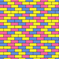 Colorful bricks Royalty Free Stock Images