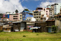 Colorful Buildings in DaLat Royalty Free Stock Images