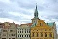 Colorful buildings in Old Town of Prague Royalty Free Stock Photo