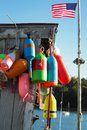 Colorful buoys Royalty Free Stock Photo