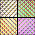 Colorful butterfly background collection of vector illustration eps Stock Image