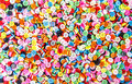 Colorful buttons colorful clasper background Stock Photography