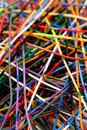 Colorful Cable Royalty Free Stock Photo