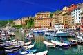 Colorful Camogli, Ligurian coast, Italy Stock Photo
