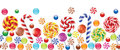Colorful candies, fruit bonbon, lollipop Royalty Free Stock Photo