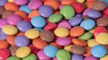 Colorful candies pile assorted close up photo Royalty Free Stock Images