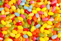 Colorful candy beans Royalty Free Stock Photo