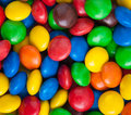 Colorful candy close up chocolate Royalty Free Stock Photo