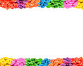 Picture : Colorful candy frame from flower