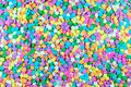 Colorful candy stars Royalty Free Stock Image