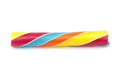 Colorful candy stick on white background Royalty Free Stock Photo