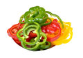 Colorful capsicums Royalty Free Stock Photo