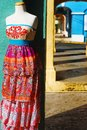 Colorful Caribbean Fashion Royalty Free Stock Photo