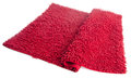 Colorful carpet or doormat for cleaning feet on background Royalty Free Stock Image