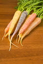 Colorful Carrots Stock Photos