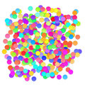 Colorful celebration background with confetti. Vector