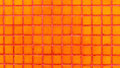 Colorful ceramic tiles mosaic - orange