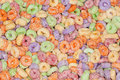 Colorful Cereal Royalty Free Stock Images