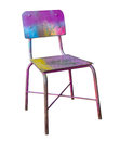 Colorful chair Stock Image