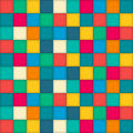 Colorful checks background pattern for design Royalty Free Stock Photography