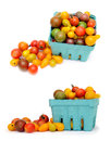 Colorful cherry tomatoes Royalty Free Stock Images