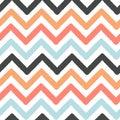 Colorful chevron grunge stripes seamless vector pattern background illustration