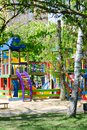stock image of  Children playground in park