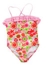 Colorful children's swimsuit Stock Images