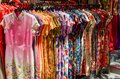 Colorful chinese cheongsam hanging for sale