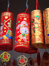 Colorful Chinese New Year decorations Royalty Free Stock Photo