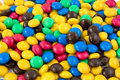 Colorful chocolate candy Stock Photo