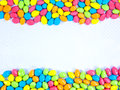 Colorful chocolate candy. Stock Photos
