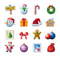 Colorful Christmas graphics Stock Photos