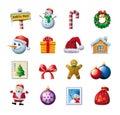 Colorful Christmas graphics