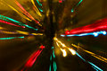 Colorful Christmas light abstraction Royalty Free Stock Photo
