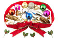 Colorful christmas ornament Royalty Free Stock Photo