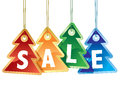Colorful Christmas sale Stock Photography