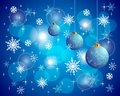 Colorful christmas vector backround and shine Royalty Free Stock Images
