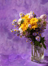 Colorful chrysanthemums bunch Royalty Free Stock Images