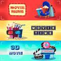 Colorful Cinematography Horizontal Banners