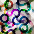 Colorful circle background Stock Photo