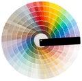 Colorful circle cutout Royalty Free Stock Photo