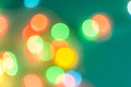 Colorful circles of bokeh light abstract Royalty Free Stock Photo
