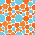Colorful circles seamless pattern Royalty Free Stock Photography